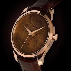 Tobacco Gold タバコの葉を文字盤にした時計