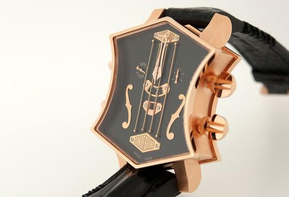 ArtyA Guitar Watch 18K Pink Gold