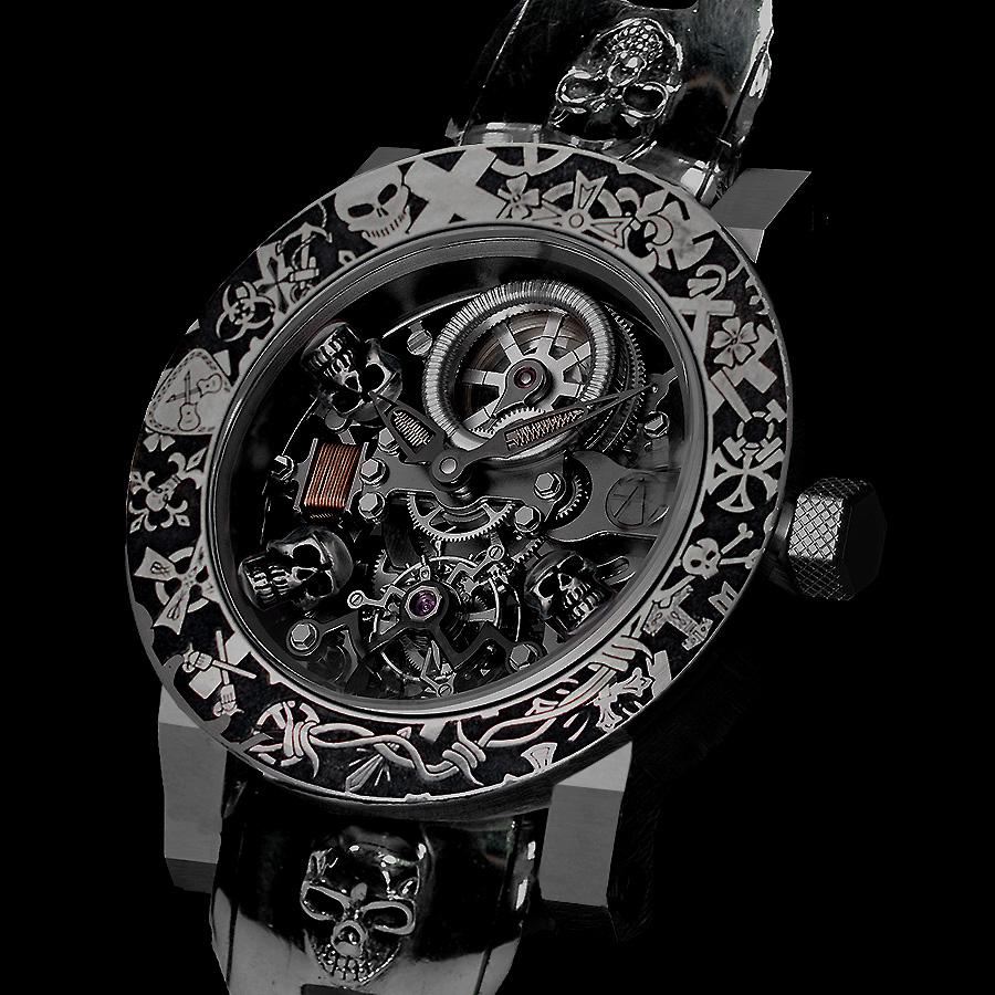 スイス時計ブランド ArtyA のスカルトゥールビヨン