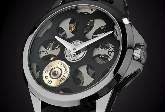 ArtyA Russian Roulette Desert Eagle Luxury Watch