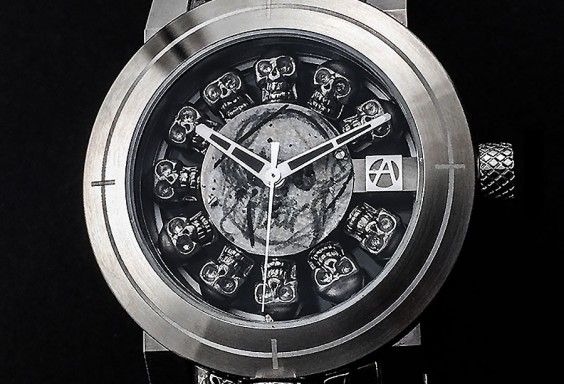 ArtyA Full Skull Watch