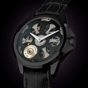 ArtyA Russian Roulette A1 Black and Grey Luxury Watch