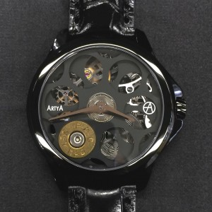 ArtyA Russian Roulette A1 Black Luxury Watch