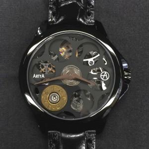 ArtyA Russian Roulette A1 Black Luxury Watch