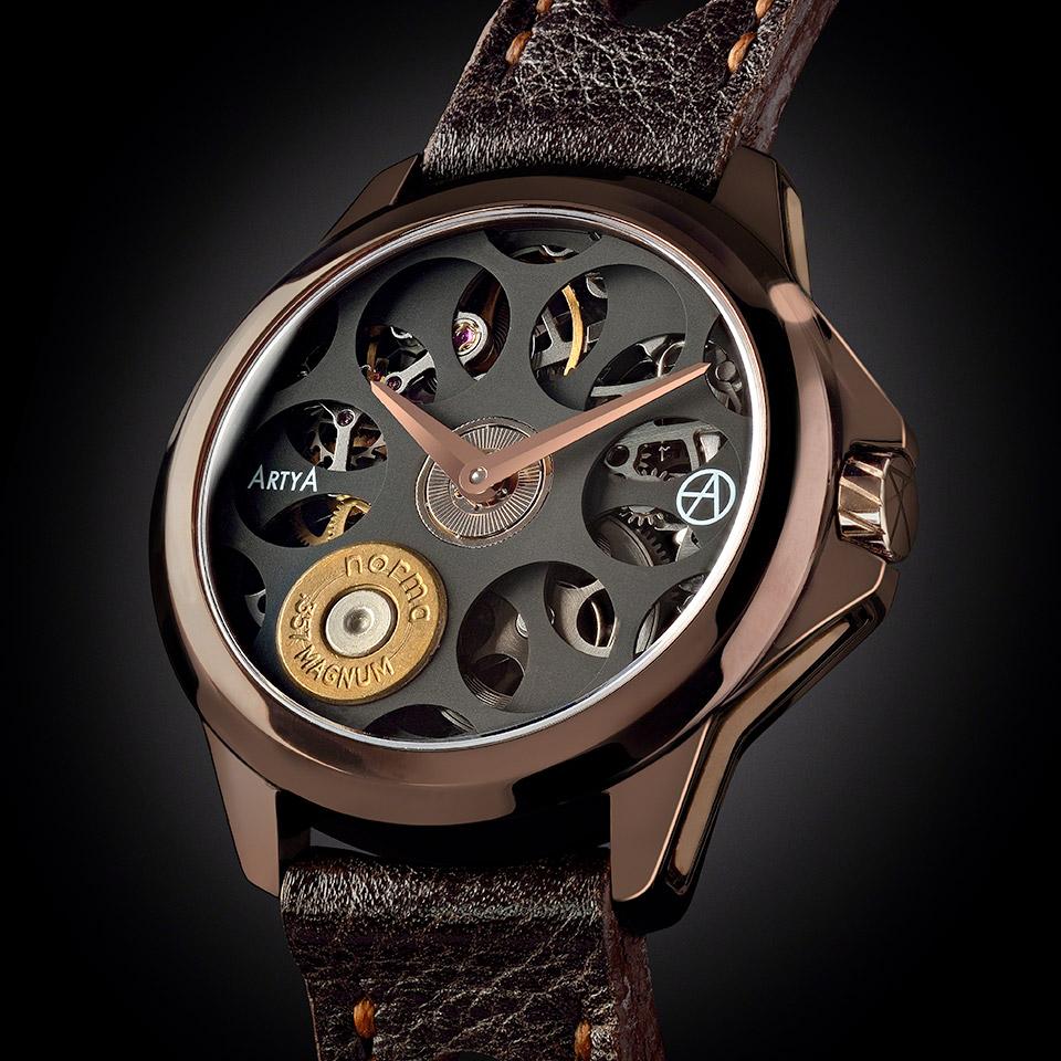 バーゼルワールド2015 新作時計 Russian Roulette Cocolate