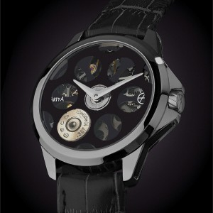 ArtyA Russian Roulette Desert Eagle Black Luxury Watch