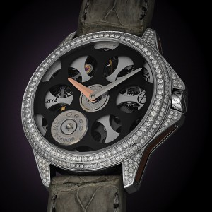 ArtyA Russian Roulette Desert Eagle Set Diamonds Watch