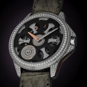 ArtyA Russian Roulette Desert Eagle Set Diamonds Watch