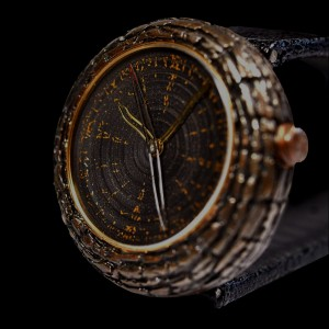 ArtyA Wood Fossil watch