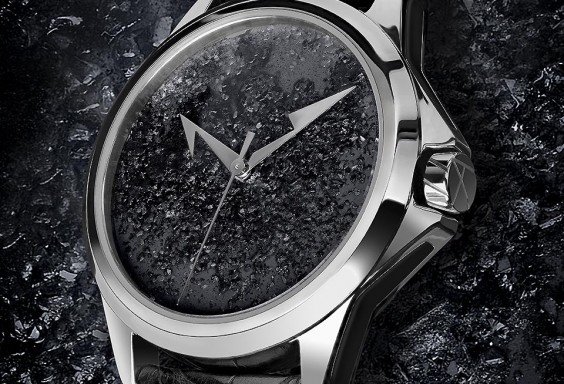 ArtyA Luxury Watch Black Pigments