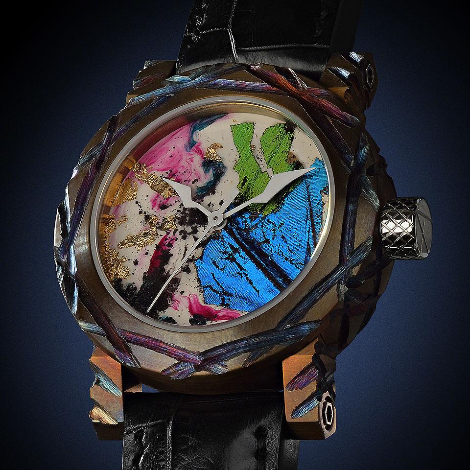 高級時計ブランド アーティア Butterflies Parade2