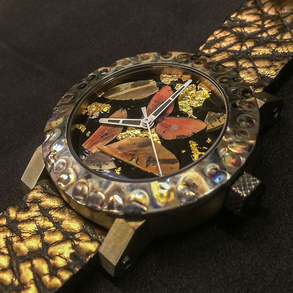 ArtyA Watch Butterfly Composition