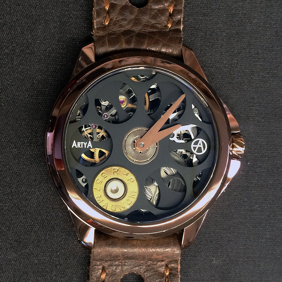 ArtyA Russian Roulette Chocolat Luxury Watch