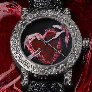 スイス時計ブランド アーティアのダイヤモンドウォッチ ハート