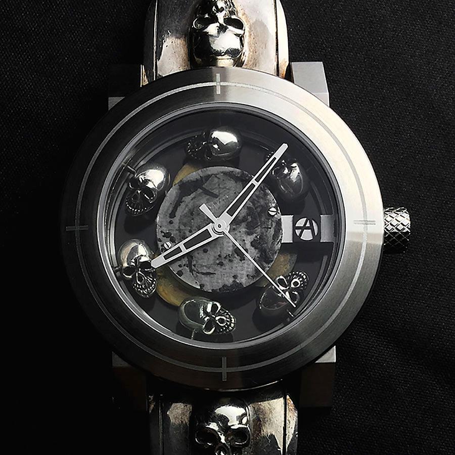 高級時計ブランド アーティアのスカル時計