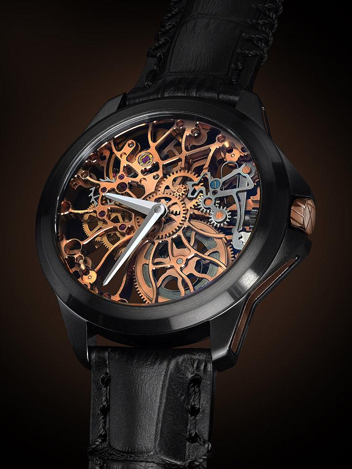 バーゼルワールド2015 新作時計 スケルトン