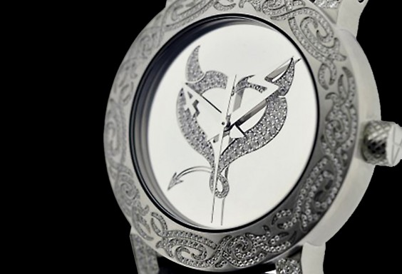 ArtyA Diamonds Watch Devil