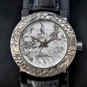ArtyA luxury art watch Dragon3