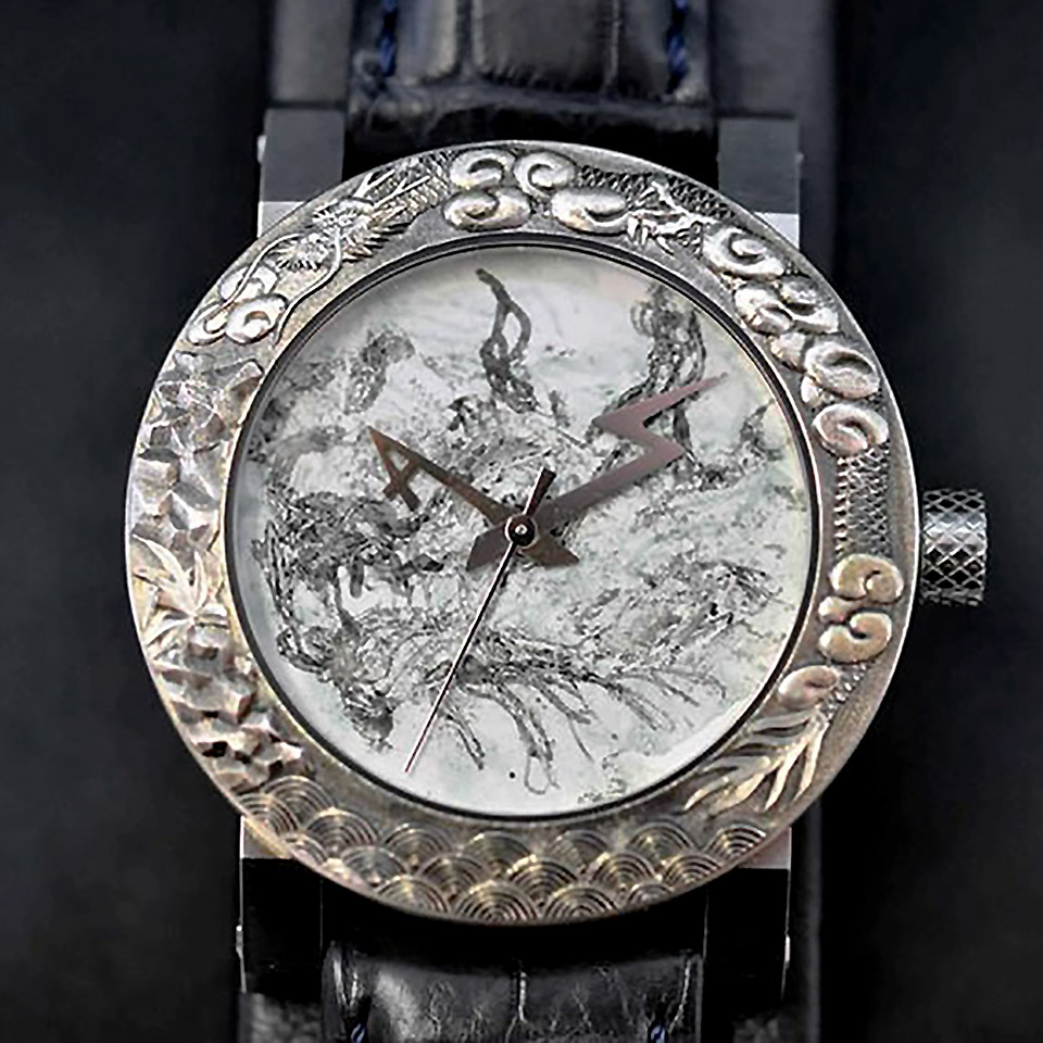 ArtyA luxury art watch Dragon3