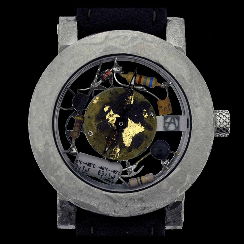 高級時計ブランドArtyAのQuadri Rotor