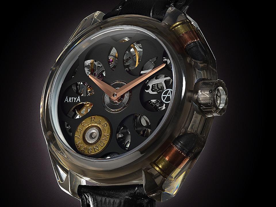 バーゼルワールド2015 新作時計 アーティア ロシアンルーレット グラスノスチG1