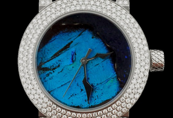 ダイヤモンドレディース時計