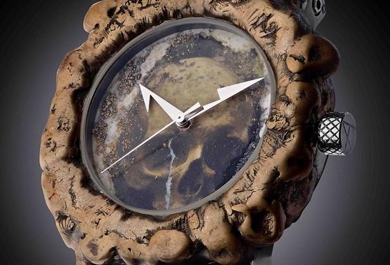 高級時計 アーティアのスカル時計