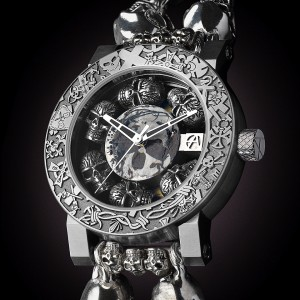 ArtyA Skull Catacomb Luxury Watch