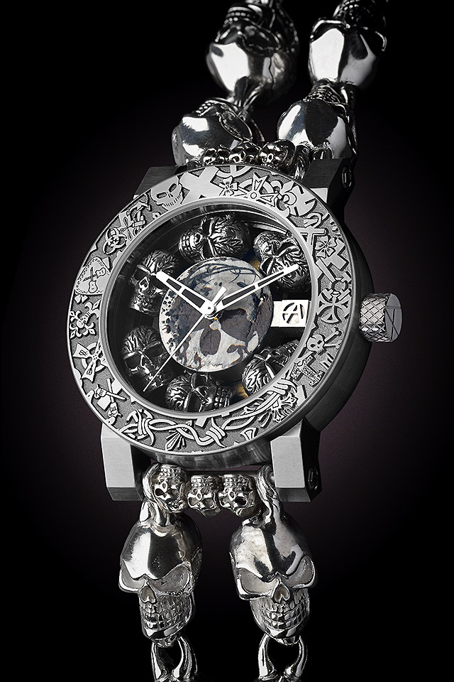 BASELWORLD2015 ArtyA Skull Watch Catacomb