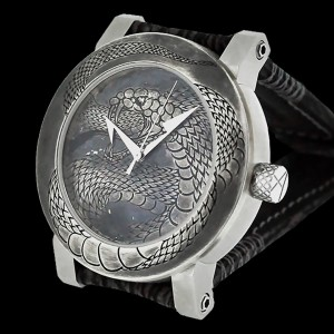 ArtyA luxury art watch Snake