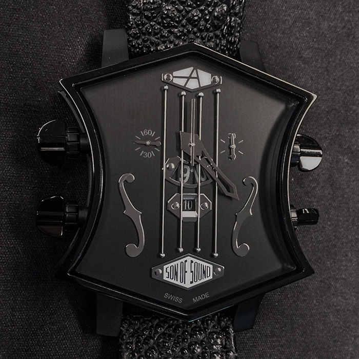 ArtyA Son of Sound Guitar Black