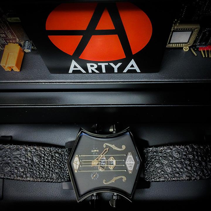 ArtyA Son of Sound Guitar Black