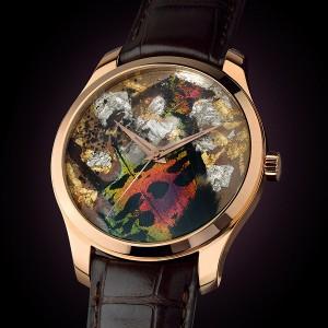 高級時計ブランド アーティアの18Kゴールドウォッチ Precious Butterfly2