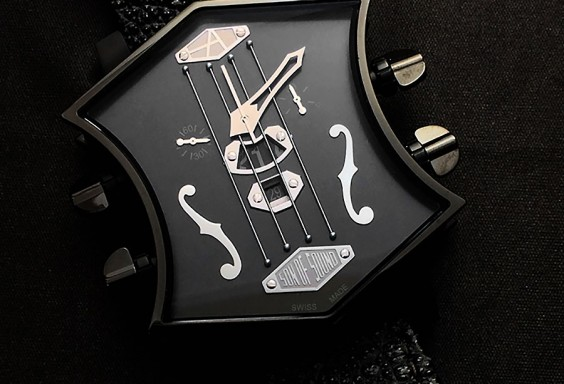 ArtyA Guitar Watch Bぁck