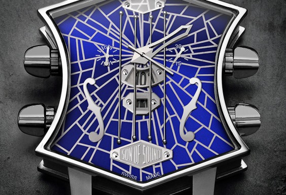 ArtyA Guitar Watch Broken Glass