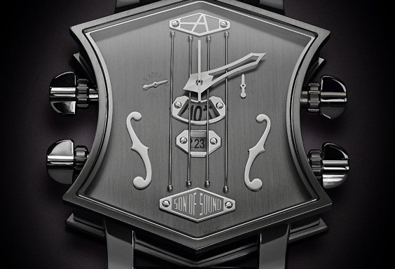 ArtyA Guitar Watch Earl Grey