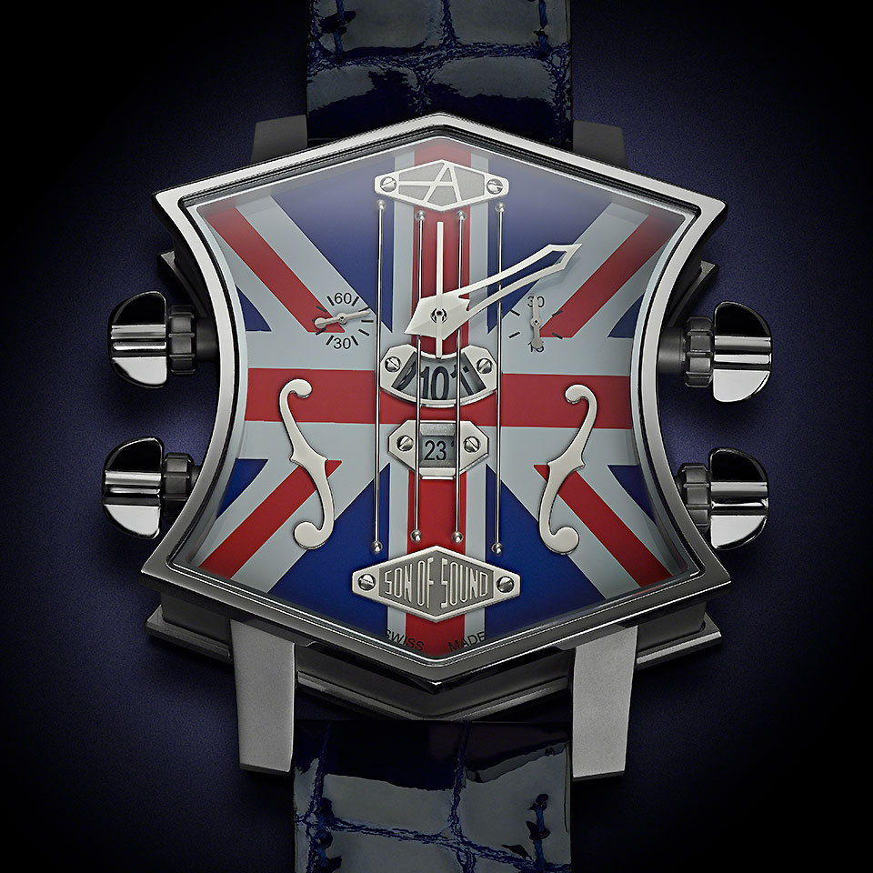 ArtyA Guitar Watch Union Jack