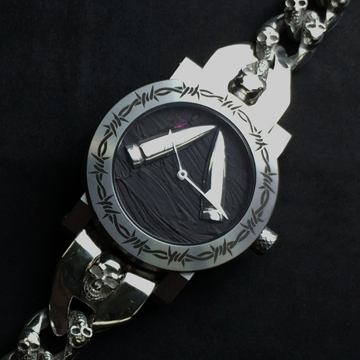 ArtyA Werewolf スカル時計 メンズ