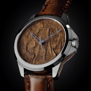 Tobacco タバコの葉を文字盤にした時計