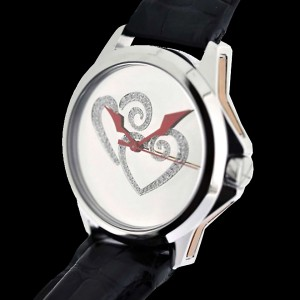 ArtyA Twin Heart Diamonds Watch