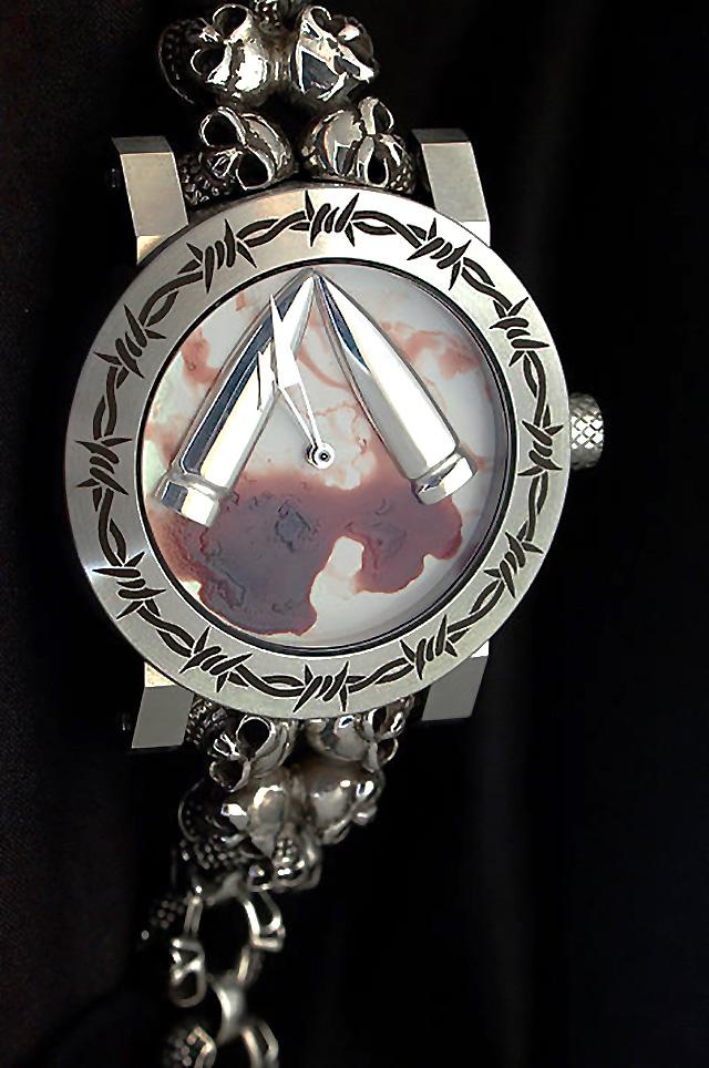 バーゼル2015 ArtyA のスカル時計