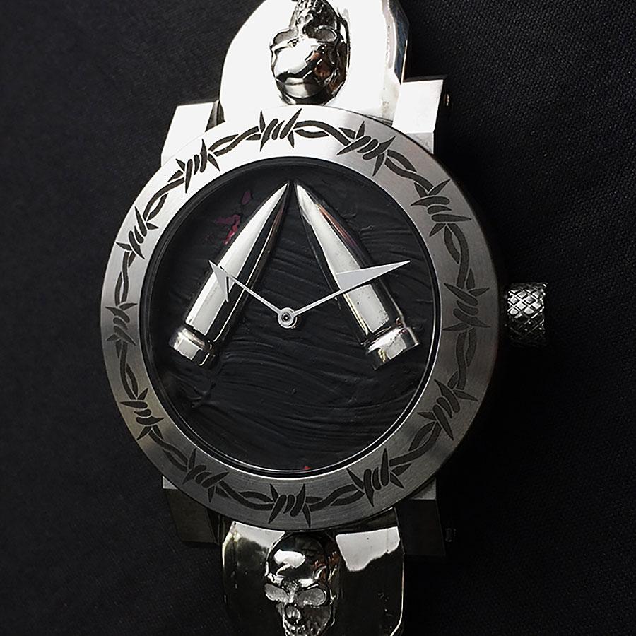 アーティアのスカル時計 Werewolf Special Skull Strap