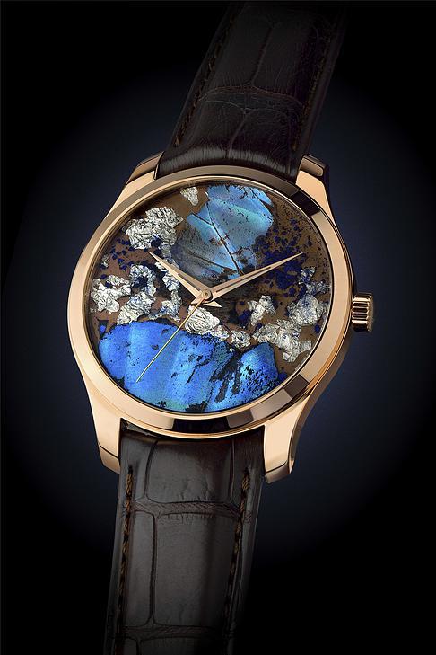 バーゼル新作時計 本物の蝶の羽を使用したアートウォッチ Precious Butterfly1