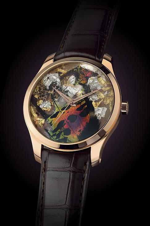 バーゼル新作時計 本物の蝶の羽を使用したアートウォッチ Precious Butterfly2
