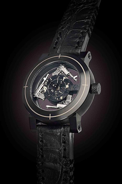 BASELWORLD ArtyA Black Mini Gun
