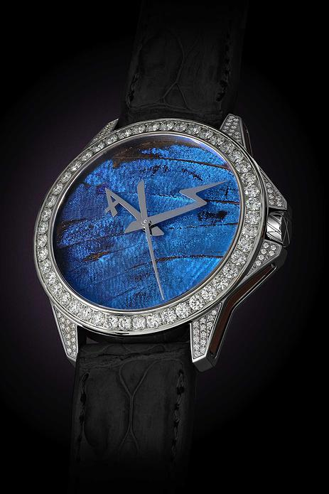 BASELWORLD 2015 New Watch Butterfly Set Blue