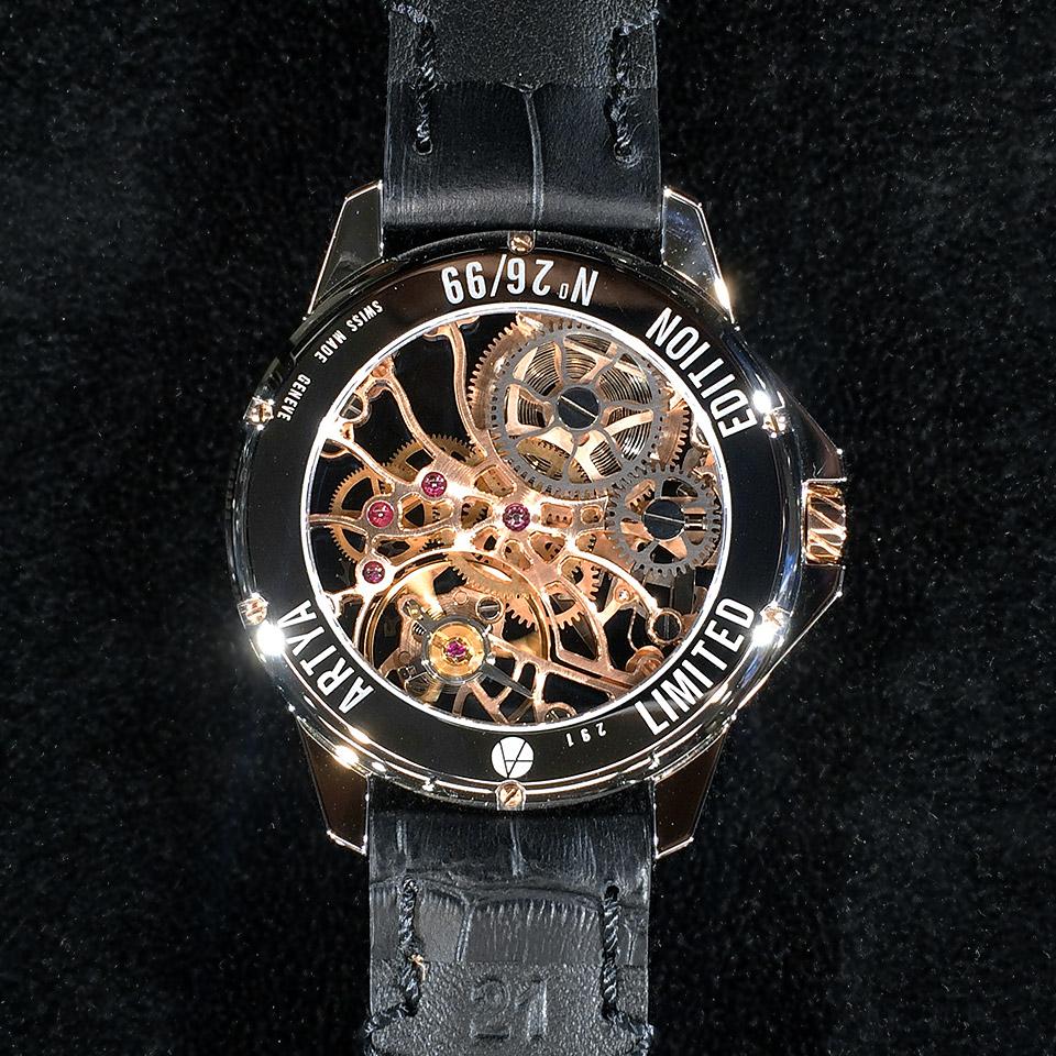 スイス高級時計 アーティア GOLDEN SHAMS 2