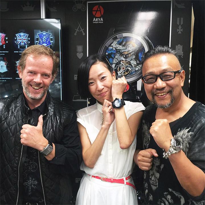 ArtyA 岸由利子さんによるインタビュー
