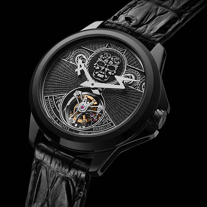 ArtyA Arabesque Skull Tourbillon