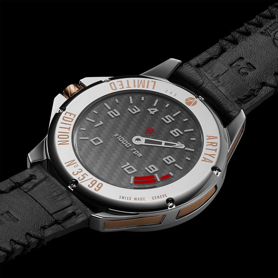 タコメーター 腕時計